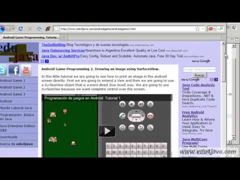 Programación juegos Android. Tutorial 2