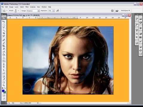 How too Use Burn Dodge Sponge Tool In Photoshop CS3
