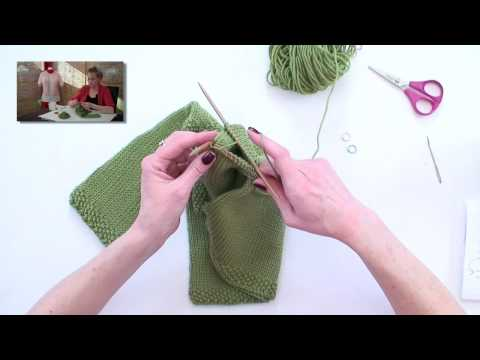 Learn to Knit a Raglan Sweater - Toddler Tunic Part 4