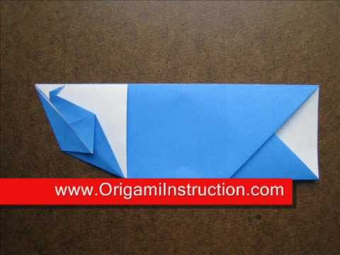 How to Fold Origami Chopstick Case with Crane - OrigamiInstruction.com