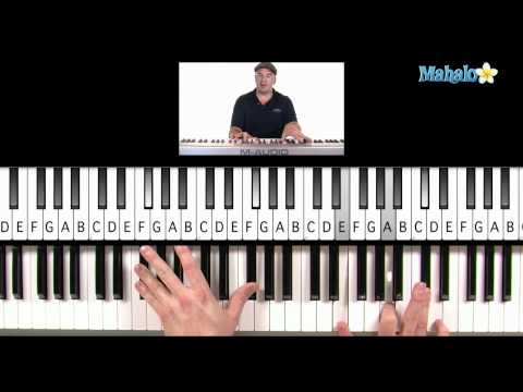 "How to Play ""For the First Time"" by The Script on Piano"