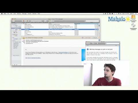Mail - Junk Email - Learn Mac OS Snow Leopard