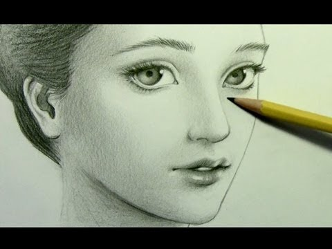 "How to Draw a ""Realistic"" Manga Face [pt. 2: Shading]"