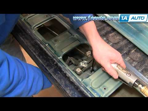 How To Install Repair Replace Broken Tailgate Handle Dodge Ram 02-08 1AAuto.com
