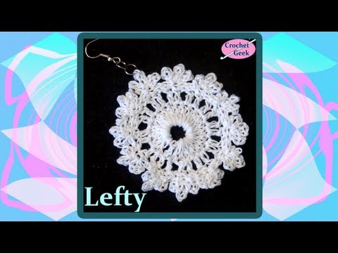 Crochet Earring Fern LHV