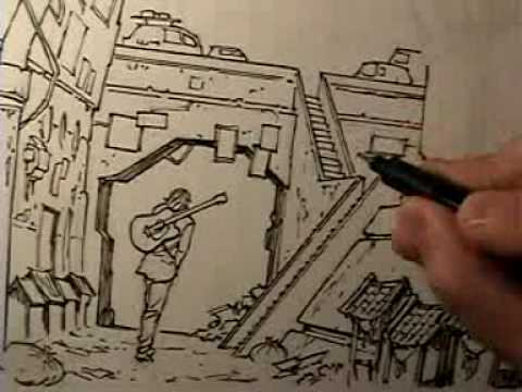 Message To My Subscribers #10 (Inking Time Lapse)