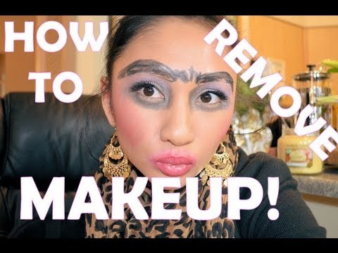 ✿ HOW TO REMOVE ALL MAKEUP ✿