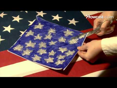 How to Make a Patriotic Pinwheel