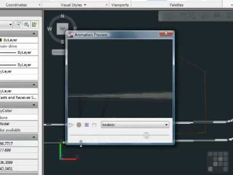 AutoCAD - Creating Animation in the AutoCAD Workspace