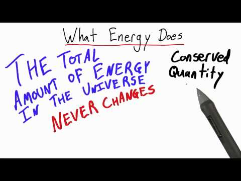 What Energy Does - Intro to Physics - Work and Energy - Udacity