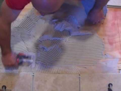How to install ceramic tile. Part 1 of 2