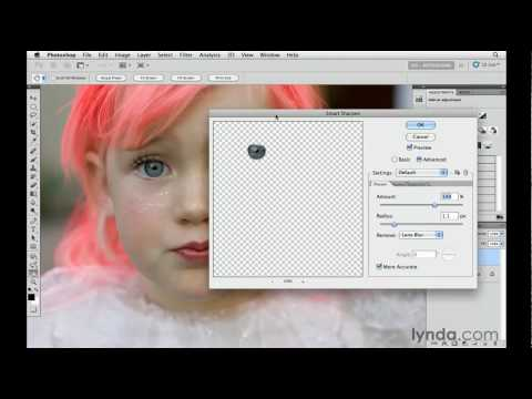How to brighten the eyes in Photoshop | lynda.com tutorial