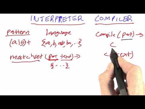 Lower level compilers - CS212 Unit 3 - Udacity