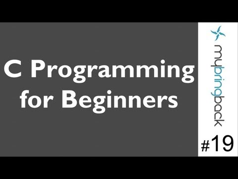 Learn C Programming Tutorial 1.19 For Loops