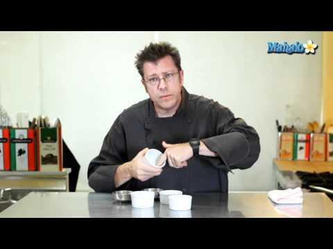 How to Butter and Sugar a Ramekin