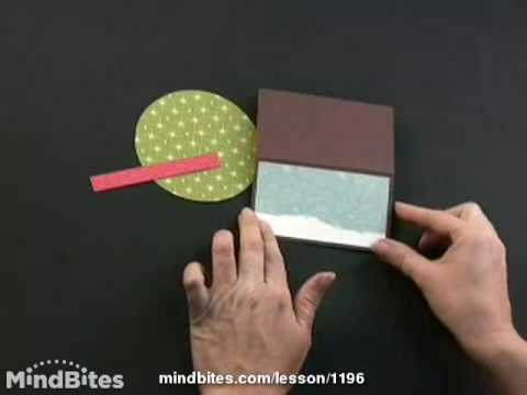 How to make a 3D Holiday Christmas Tree Card