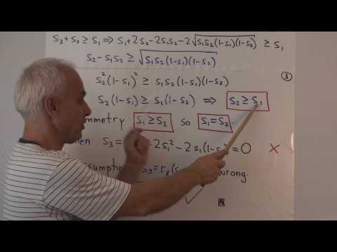 WT61: Proofs of the Triangle spread rules