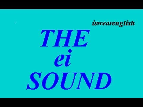 eɪ - Examples of the eɪ dipthong as in Say - ESL British English Pronunciation