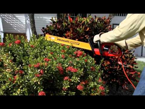 "Homelite 22"" Electric Hedge Trimmer"