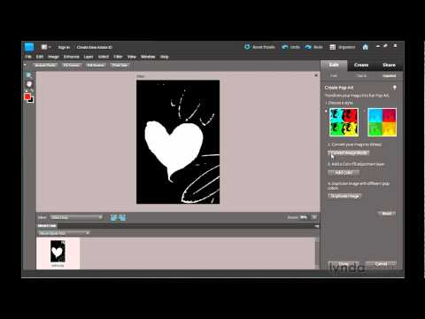 Photoshop Elements 9: Creating pop art | lynda.com tutorial