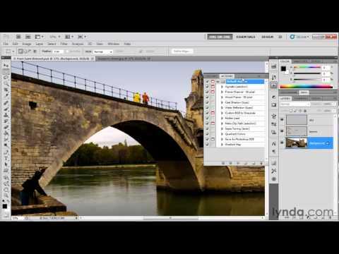 Adobe Bridge tutorial: Using the Actions panel | lynda.com
