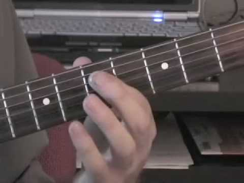 How to play the guitar - lead guitar riff building
