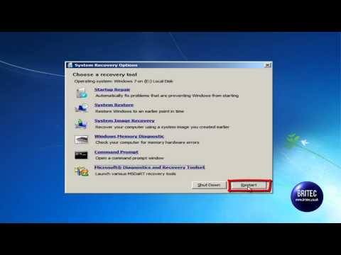 Disabling Device Drivers or Service Using MSDaRT by Britec