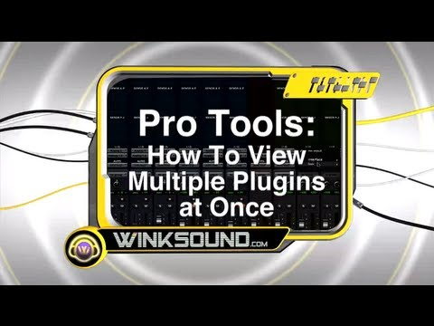 Pro Tools: How To View Multiple Plugins at Once