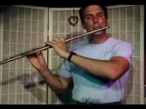 Flute Lesson: How to play a D Minor Chord with Arpegio