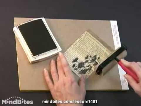 How to make a Hugs and Kisses Black Flower Greeting Card