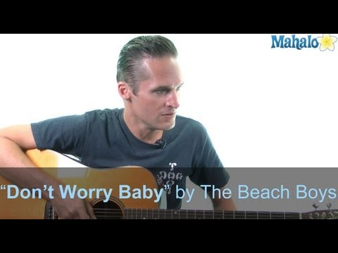 "How to Play ""Don't Worry Baby"" by The Beach Boys on Guitar (Practice Cover)"