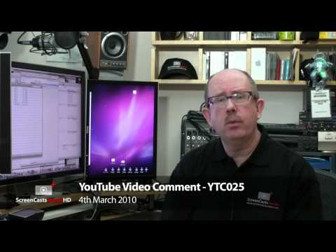 YTC025 - Mac Mini and iPad Rumours