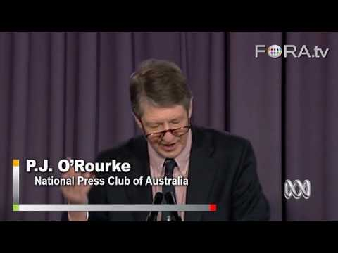 Conservatives and Fiscal Responsibility - P.J. O'Rourke