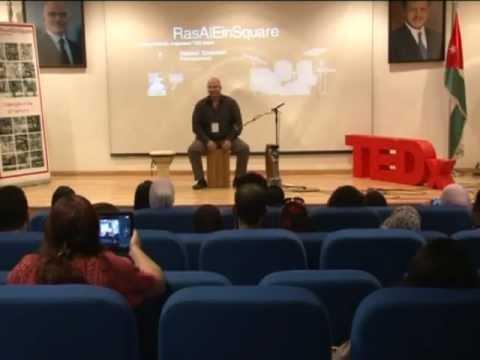 Solo 1 2 3:  Nasser Salameh at TEDxRasAlEinSquare