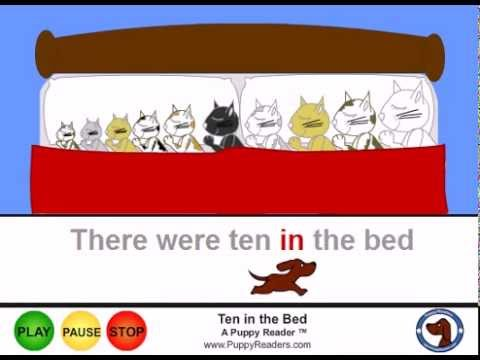 Ten In the Bed:  Animated Songbook for Children
