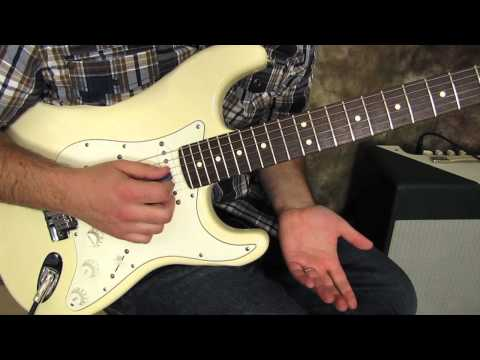 Guitar Scales Lesson - Lead Guitar Solo Lessons - Pentatonic Scale Exercise pattern