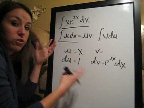 Integration by Parts Example 4