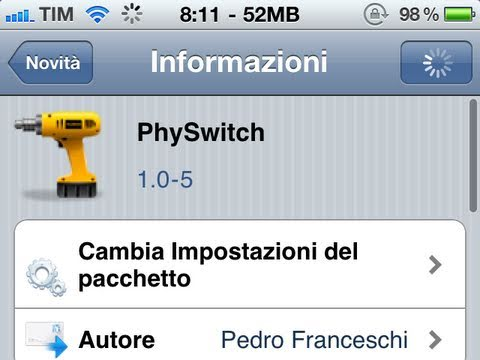 PhySwitch - Awesome way to Multi Task on your iPhone, iPod Touch & iPad - Cydia