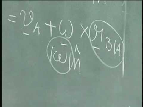 Dynamics  IITM 5.8 Kinematics - Solving problems