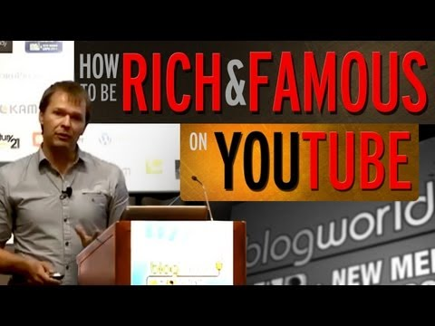 How To Become Rich And Famous On YouTube