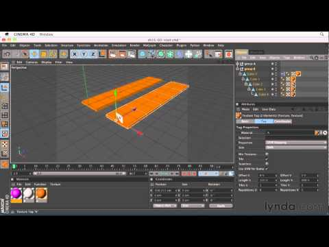 Cinema 4D: How to use the Range Mapper node | lynda.com tutorial