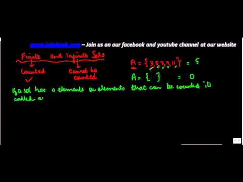 486.$ CBSE  Maths Class XI, ICSE Maths Class 11-    Finite and Infinite sets