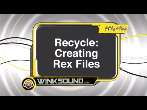 Propellerhead Recycle: How To Create Rex Files | WinkSound