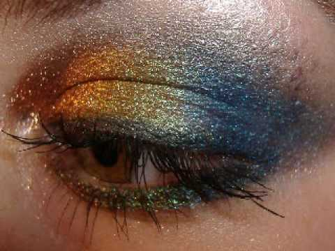 MAC pigment make up TROPICOLOUR RAINBOW Experiment