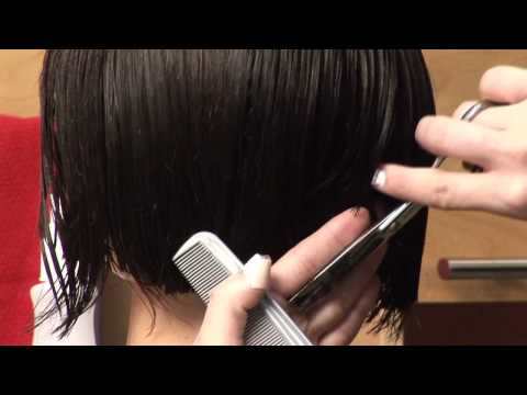 How to Create a Jaw Length Classic Bob