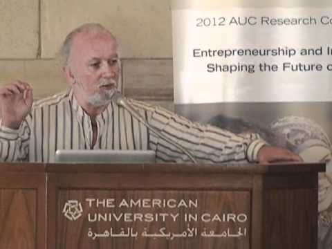 2012 AUC Research Conference: Entrepreneurship and Innovation: Shaping the Future of Egypt