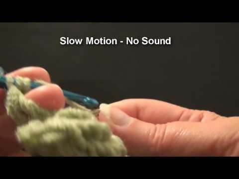 Left Hand Crochet Shamrock C - Clover