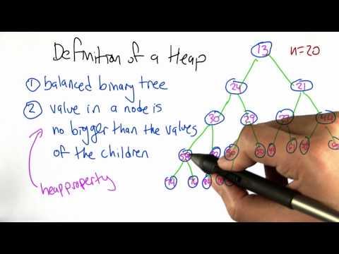 Heap Height - Algorithms - Statistics - Udacity