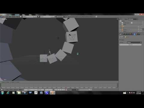 Blender Tutorial - Advanced Array Animation Part 1/10
