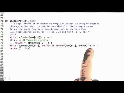 Legal Prefixes - CS212 Unit 6 - Udacity